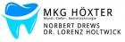 Logo MKG-Chirurg, Oralchirurg, Zahnarzt : Norbert Drews, Gemeinschaftspraxis für Mund- Kiefer- Gesichtschirurgie im St. Ansgar Krankenhaus, Dr. Lorenz Holtwick, Norbert Drews & Partner, Höxter