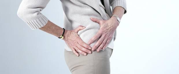 Hüftschmerzen bei älterer Frau