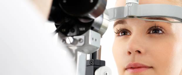 Untersuchungen der Augen