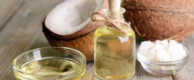 Kokosnussöl und Creme zur Behandlung von Ekzemen
