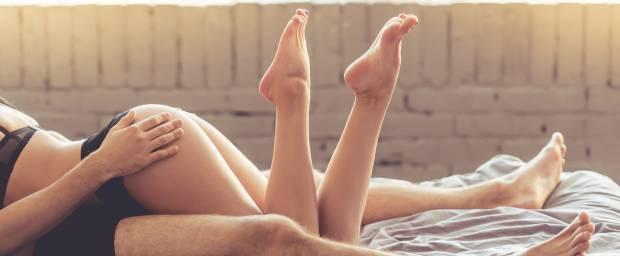 Paar beim Geschlechtsverkehr