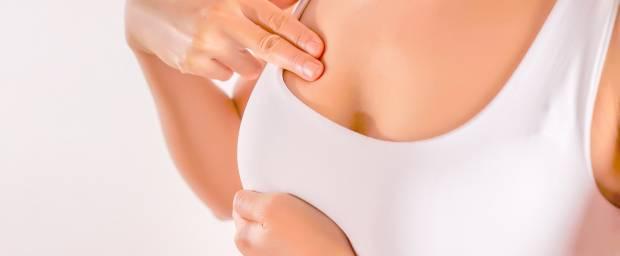 Knoten in der Brust