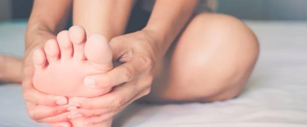 Verformungen Fußzeh