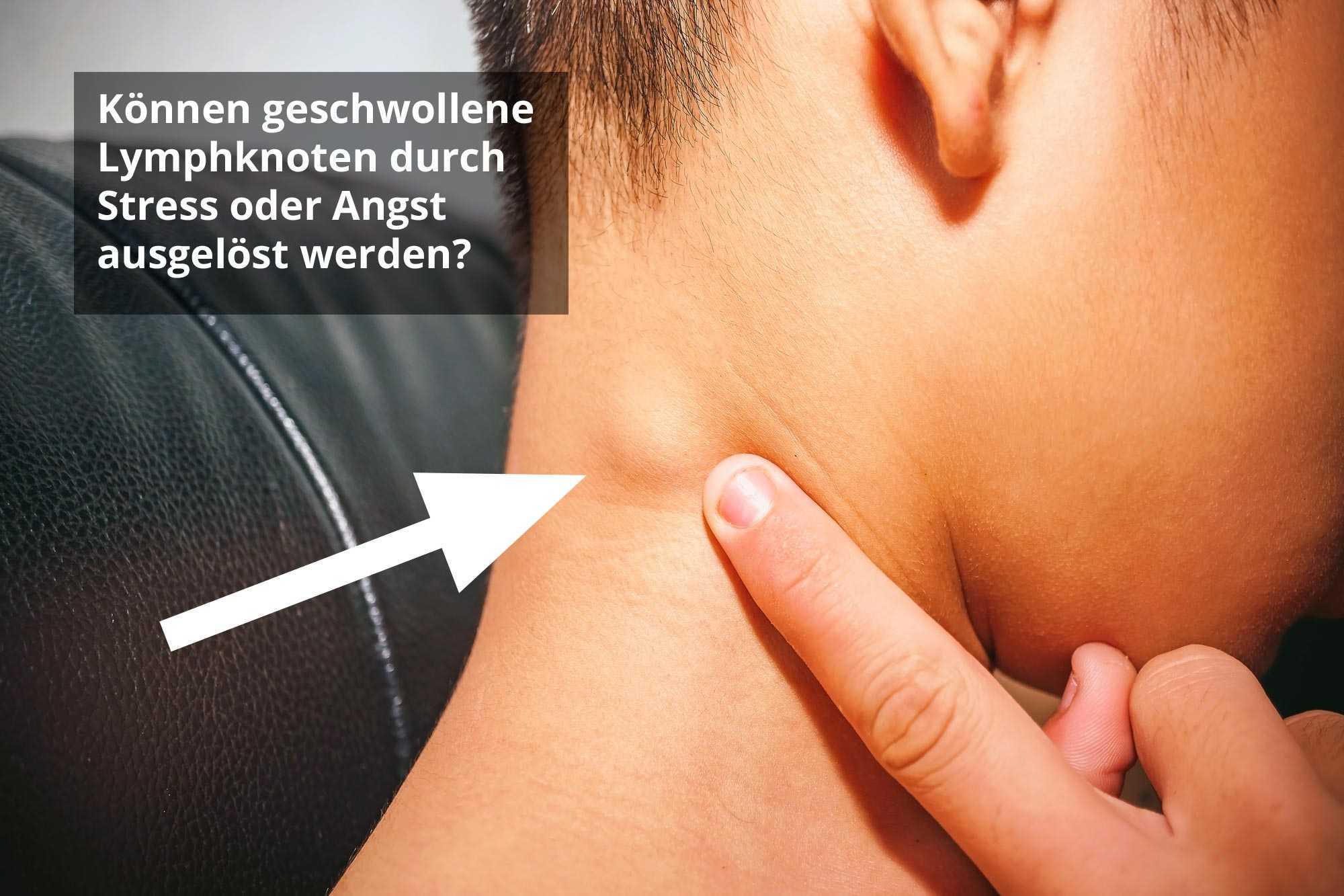 vergrößerter lymphknoten achsel