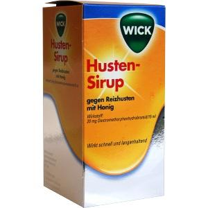 wick husten sirup gegen reizhusten mit honig wick pharma procter gamble gmbh pzn 811589. Black Bedroom Furniture Sets. Home Design Ideas