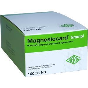 magnesiocard 5mmol verla pharm arzneimittel pzn 1667870. Black Bedroom Furniture Sets. Home Design Ideas