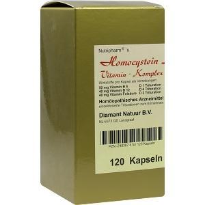 Homocystein Stoffwechsel Vitaminkomplex B&K Nutripharm..