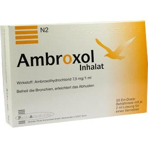 Ambroxol Inhalat, 50x2 ML