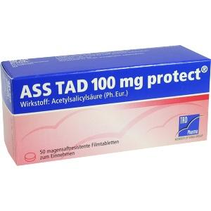 ASS TAD 100mg protect, 50 ST